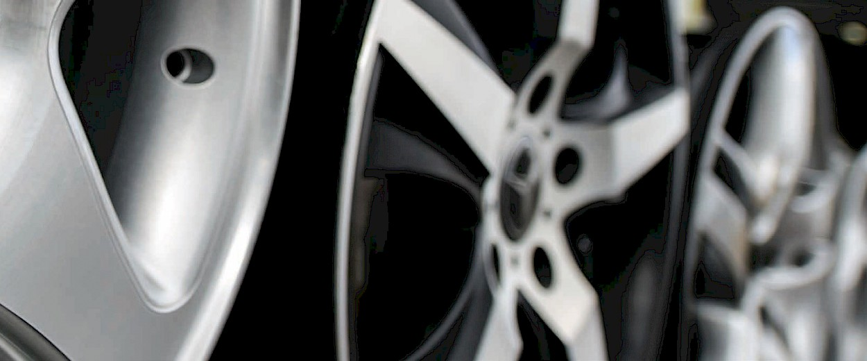 Aluminum Wheels & Structure Parts